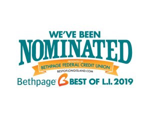 We've been nominated! Best of LI 2019!