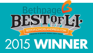 We won! Best of LI 2015!